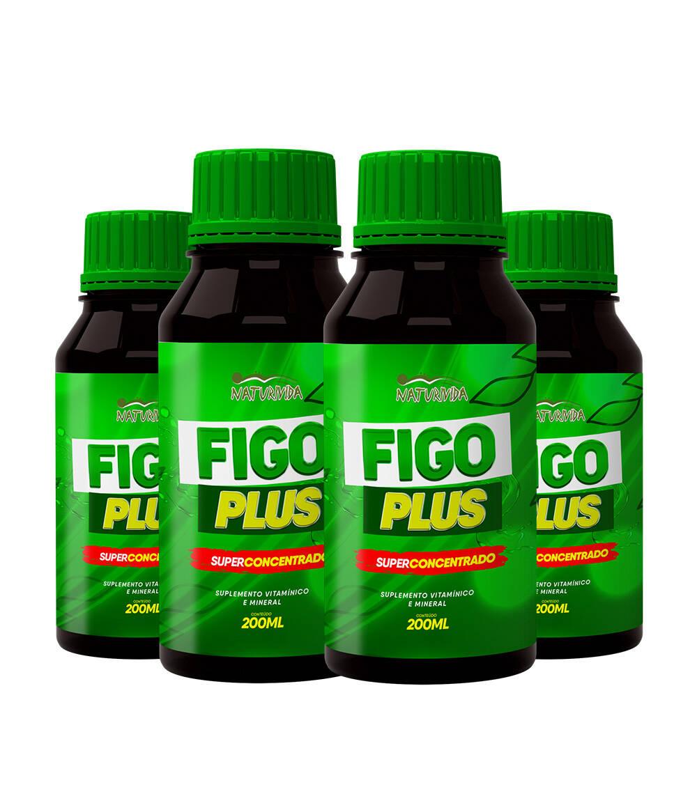 Kit 4 Figo Plus - 200 ml