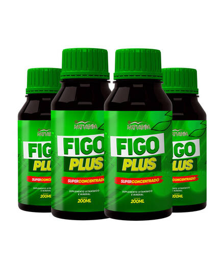Kit 4 Figo Plus - 200 ml