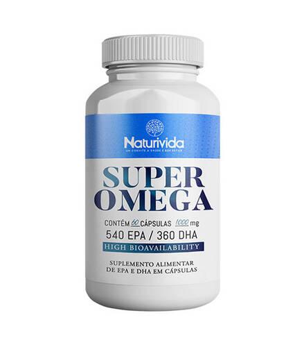 Super Omega - 1000 mg - 60 Cápsulas 540 EPA / 360 DHA