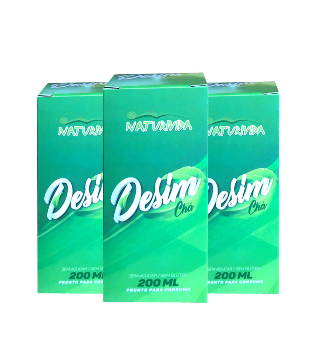 Kit 3 Desim Chá - 200 ml