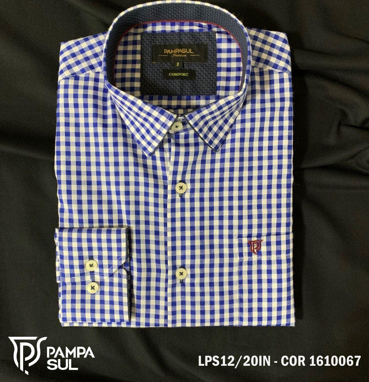 Camisa Pampa Sul Masculina Slim Confort LPS 12/20
