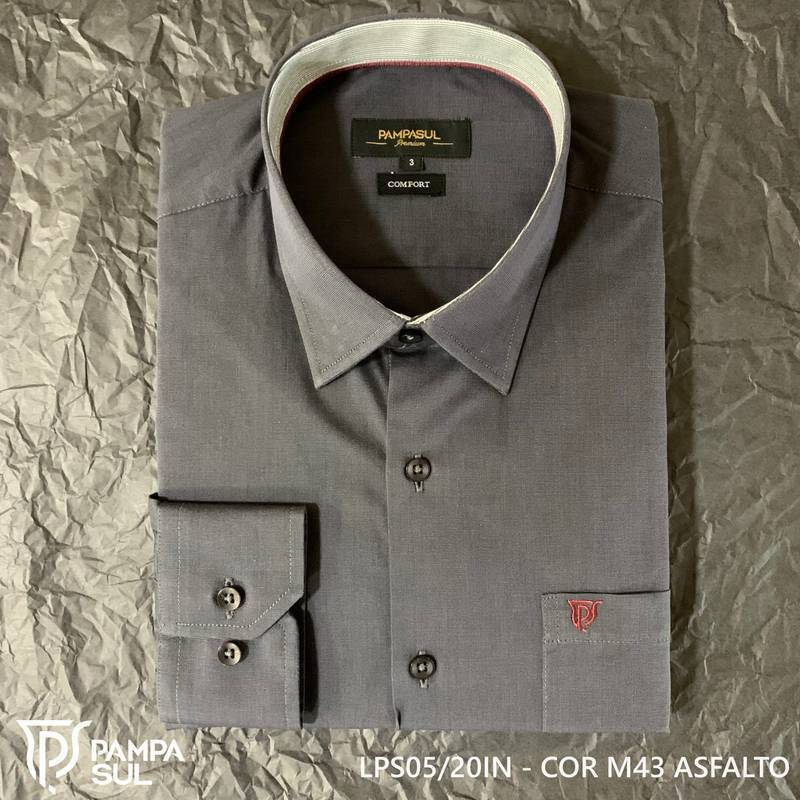 Camisa Pampa Sul Masculina Slim Confort 05/20