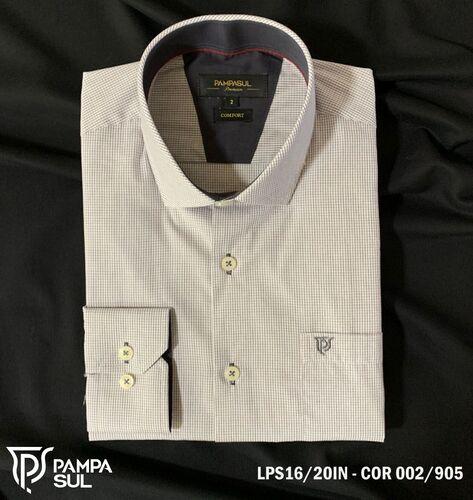 Camisa Pampa Sul Masculina Slim Confort LPS 16/20