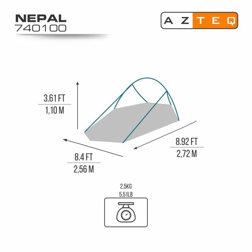 Barraca Nepal 2P - Azteq