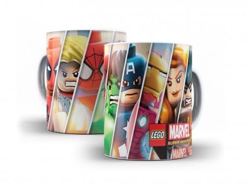 Caneca Lego Marvel