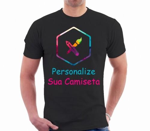 Camiseta Personalizada do seu Jeito (100% Algodão)