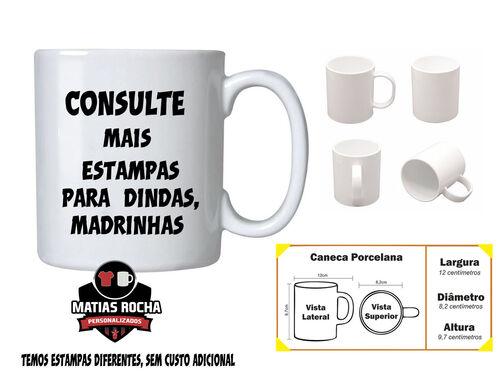 Caneca  Madrinha personalizada