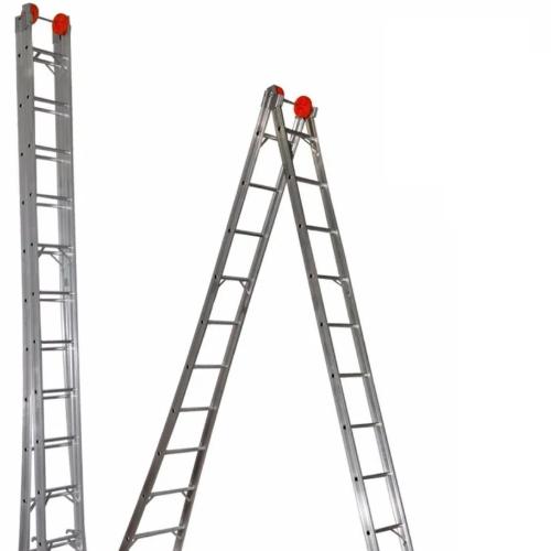 Roda Maior da Escada Articulada Fechada