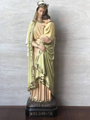 Nossa Senhora da Sabedoria - 43cm - Resina