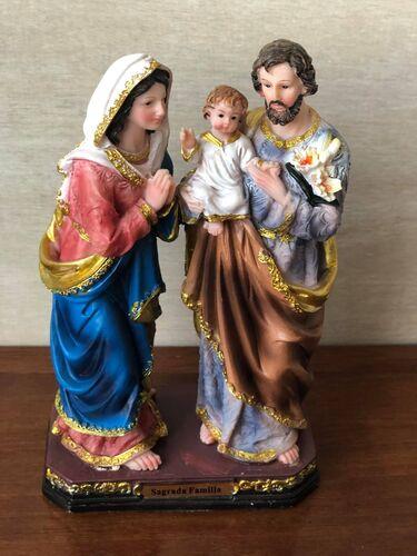 Sagrada Família 20 cm - Resina Importada