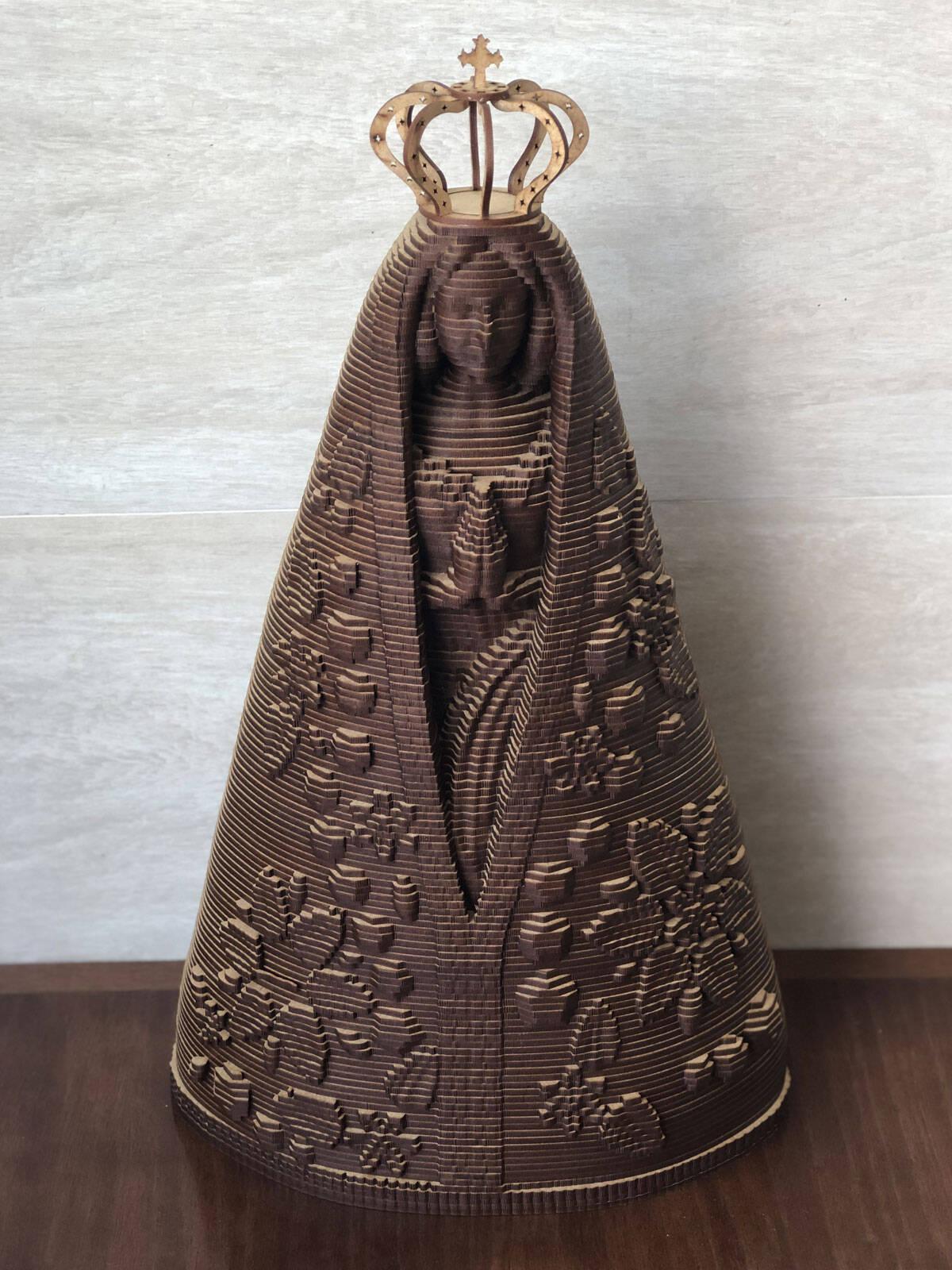Nossa Senhora Aparecida - 46cm - MDF