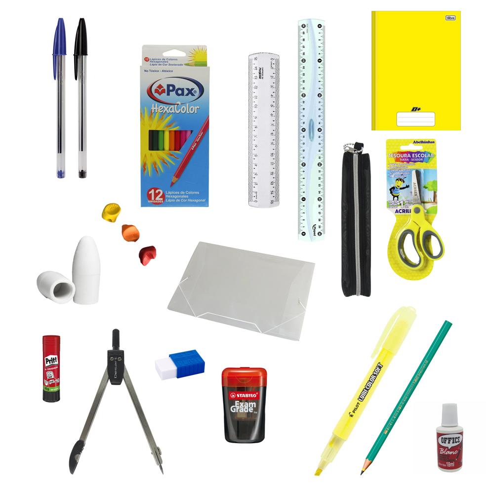 Kit de Material Escolar II