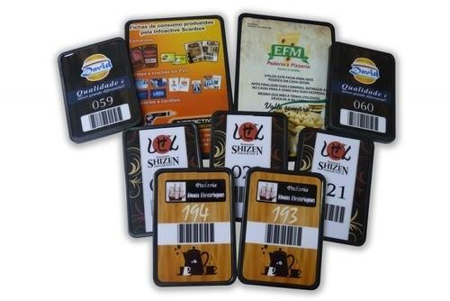 Comanda Eletrônica em Material PVC - Totalmente Personalizada