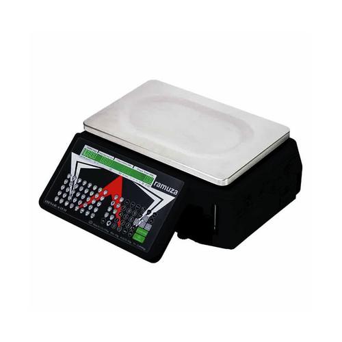 Balança Eletrônica Etiquetadora Ramuza Atena ll 35kg INMETRO