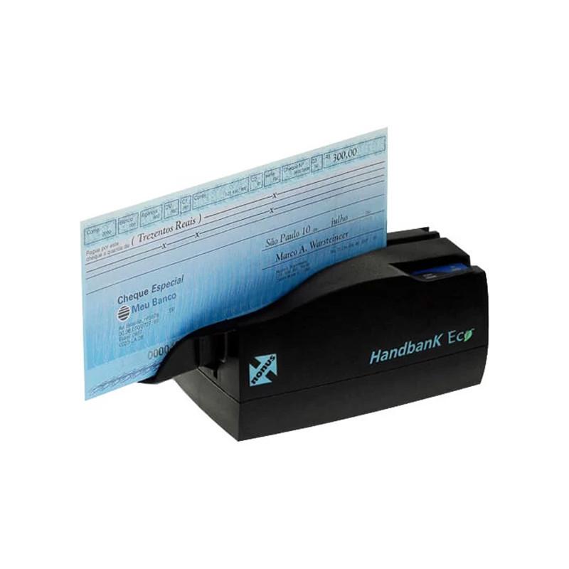 Leitor de Boleto Bancário e Cheque Nonus Handbank Eco 10