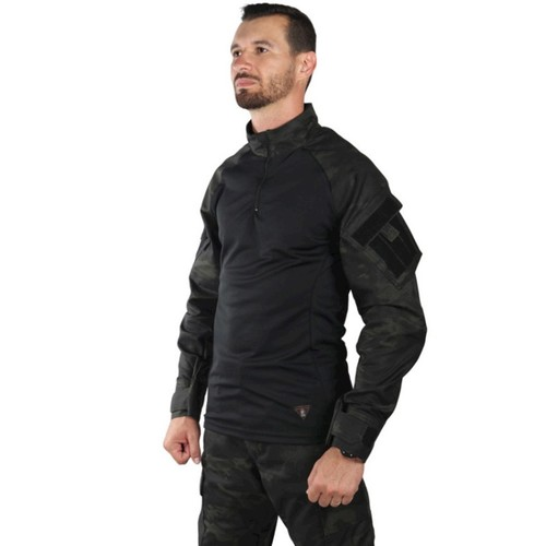 Combat Shirt Steel - Bélica - Multicam Black