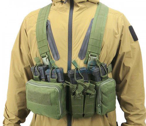 Chest Rig Orion - Verde- Feasso