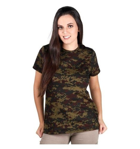 Camiseta Feminina Soldier - Digital Argila