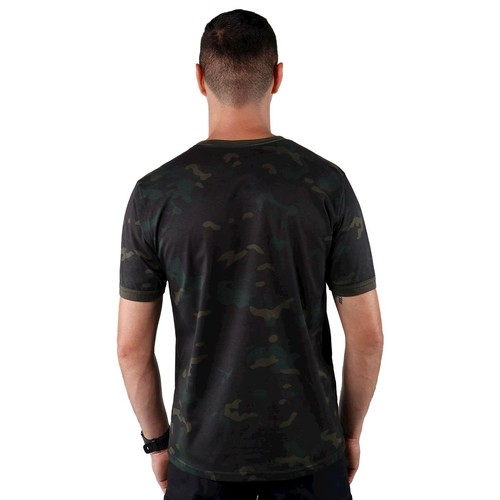 Camiseta Masculina Soldier - Multicam Black