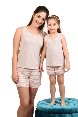 Conjunto Pijama Feminino Regata Visco Charms