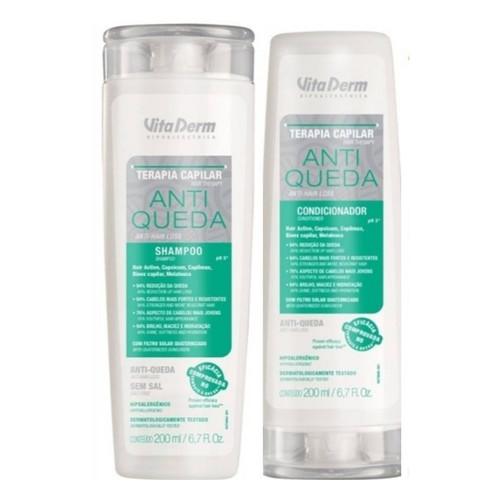 Vita Derm Anti Queda Kit Shampoo + Condicionador