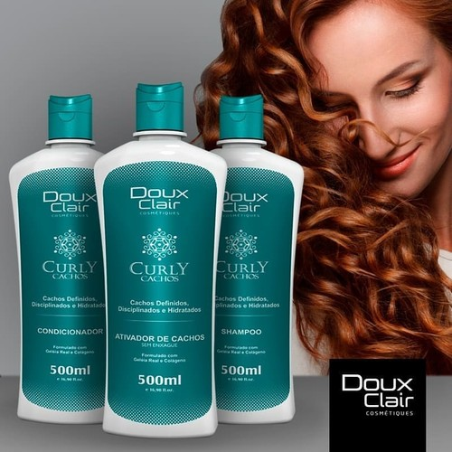 Doux Clair Curly Ativador de Cachos 500ml