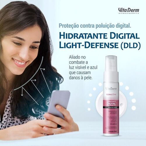 Vita Derm Hidratante Digital Light Defense 50ml