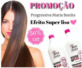 Maria Bonita Escova Progressiva 2x1000ml