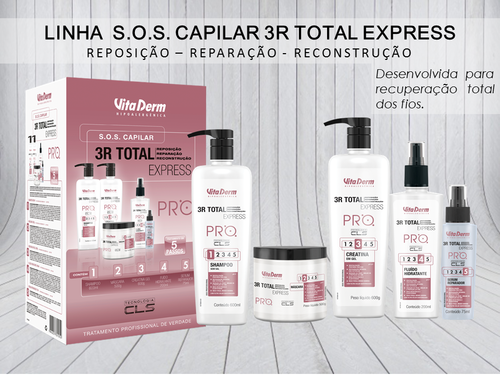 Vita Derm SOS Capilar 3R Total Express