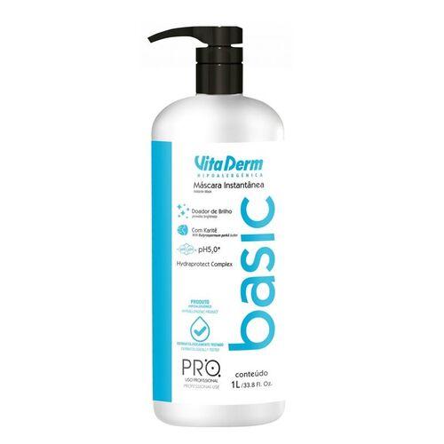 Vita Derm Pro Basic Máscara Instantânea Hidratação 1 Litro