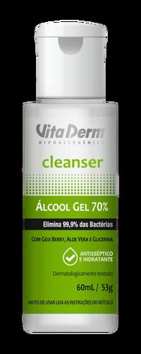 Vita Derm Álcool em Gel 70% - 60ml