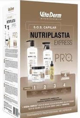 Vita Derm Nutriplastia Express Kit Tratamento