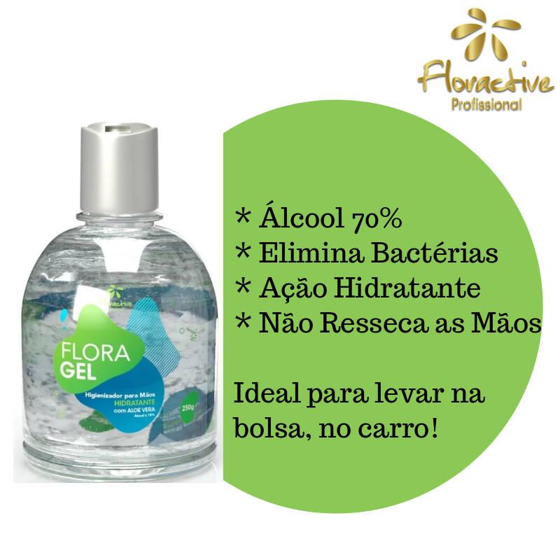 Floractive Álcool Em Gel 70% 250gr