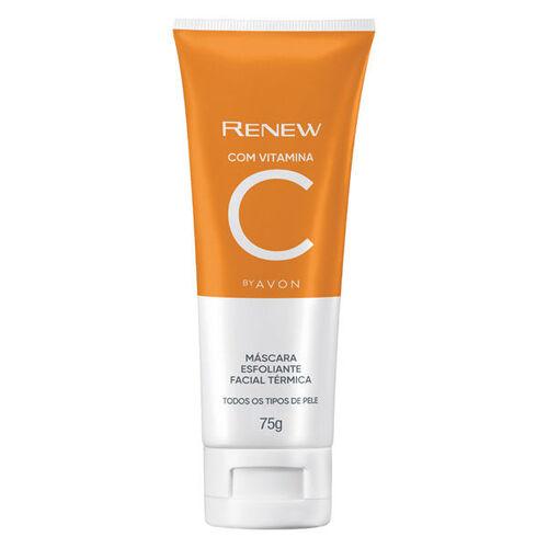 Avon Renew Máscara Esfoliante Facial Térmica Vitamina C - 75g