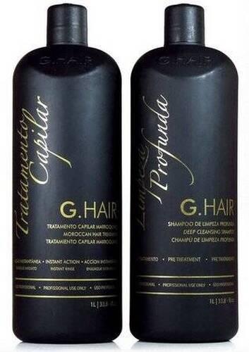G Hair Kit Escova Progressiva Marroquina 2x1000ml