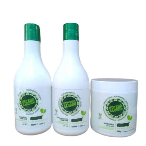 Manga Rosa Vegano Kit Hidratação