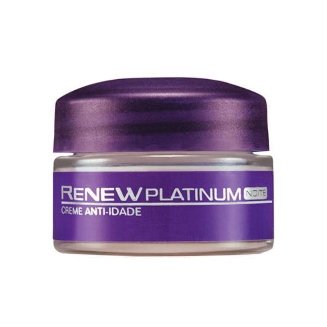 Avon Renew Platinum Creme Facial Dia FPS 30 - 15gr