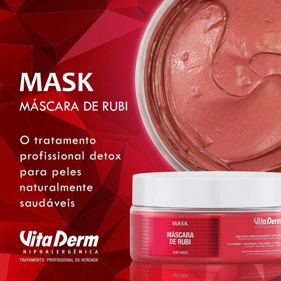 Vita Derm Máscara Rubi 240g