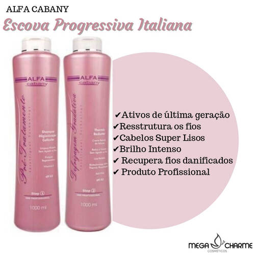 Alfa Cabany Progressiva Italiana 2x1Litro