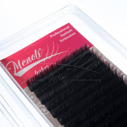 Cílios Menoli Lashes Elipse 0.15mm 12 Linhas fio a fio