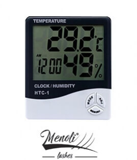 Higrômetro Digital ( Umidade , Temp. e Hora )
