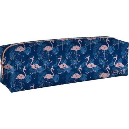 Estojo Médio Academie Flamingo Tilibra