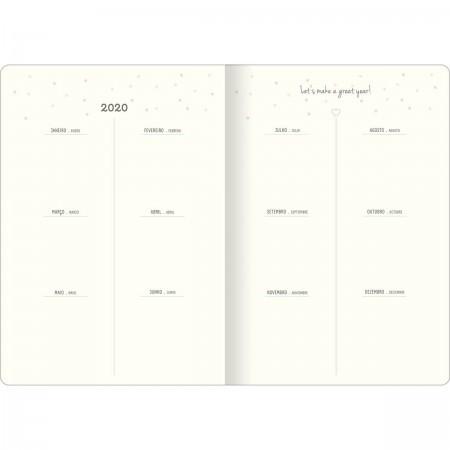 Agenda Planner Grampeado 2020 SOHO M7 Tilibra