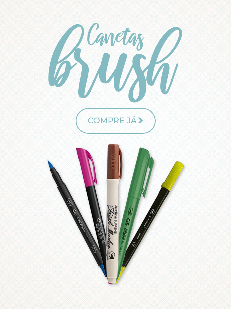 Canetas Brush