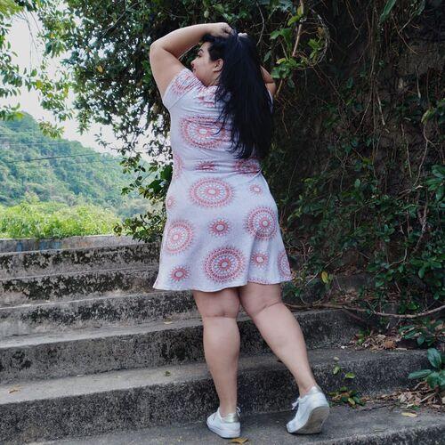 Vestido de Mandalas